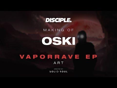 Oski VaporRave EP Cover Art Speedpaint