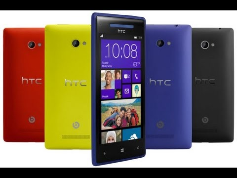 HTC Windows Phone 8 X & HTC Windows Phone 8S especificaciones