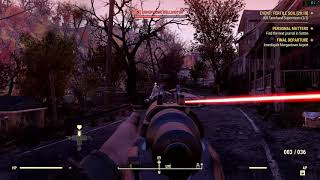 Fallout 76 - A bit of action (PC/4K)
