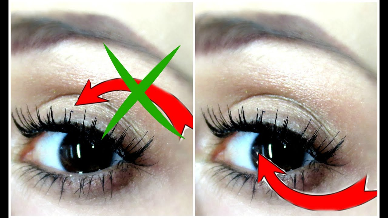 Applying False Eyelashes Underneath Your Natural Lashes Dyna