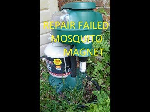 Mosquito Magnet Patriot Plus Troubleshooting and Repair