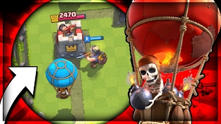 3.1 FAST CYCLE MINER BALLOON DECK!! Balloon Parade!! Legendary Arena 10 4k+ Trophy In Clash Royale