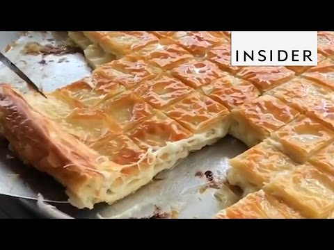 Best Turkish Food: What Is Börek?