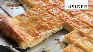 Turkey's Cheesy Breakfast Food:  Börek