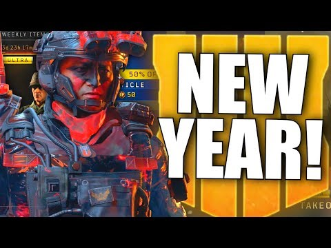 """BLACK OPS 4 WAS UPDATED! """"New Year"""" Double XP, Black Market 50% Off, New Blackout Changes & More!"""