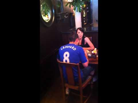 Big fat big fat frank West Ham away Chelsea