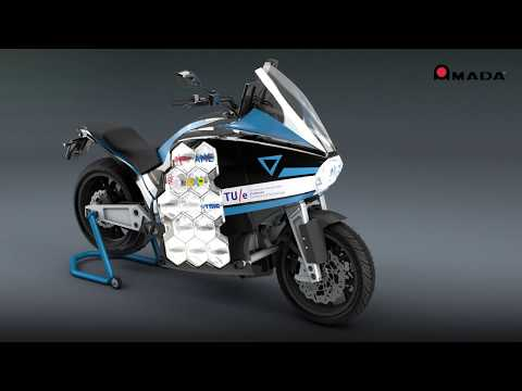 AMADA WELD TECH GmbH & STORM - the first electric motorcycle