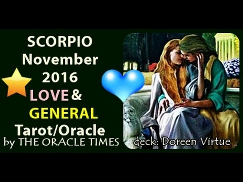 SCORPIO November 2016 FREE LOVE & general tarot & oracle YOU CAN!