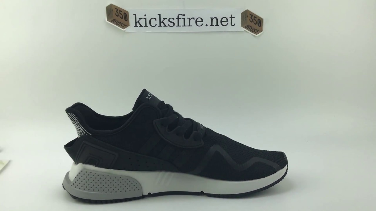 Adidas EQT Cushion ADV Core Black BY9506 From Kicksfire.net - YouTube bc93e6670