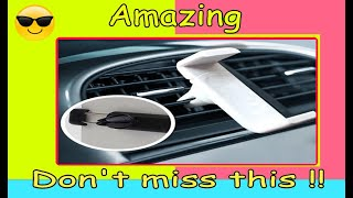360 Rotating In Car Smartphone StandNEW UPDATE2017   | Cool Car Gadgets