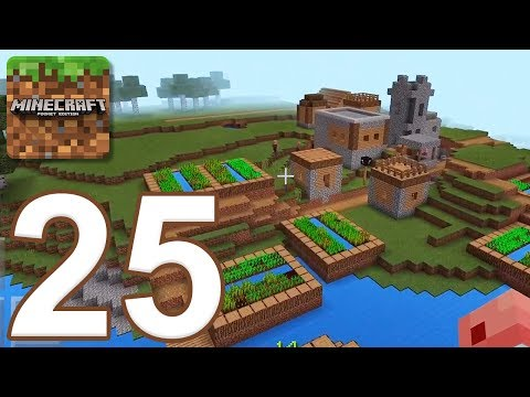Minecraft: Pocket Edition - Gameplay Walkthrough Part 25 - Survival (iOS, Android)