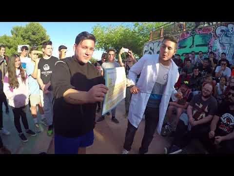 DJNESS vs VORO -CUARTOS- ESCRITAS GENERAL RAP