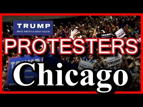 LIVE Donald Trump Chicago RIOT PROTESTERS Illinois Rally GETS CANCELED PROTEST Pavillon University ✔