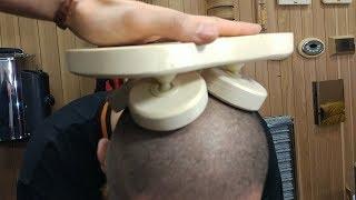 Тестирование на черепе, удобнейшего банного подголовника Sawo Halu: купи или сделай сам!