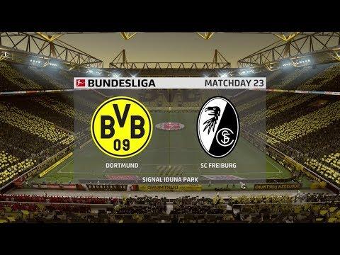 Dortmund vs Freiburg   Bundesliga 29 February 2020 ...