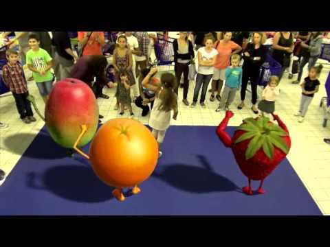 Oasis Fruit Show   Manel Anais   Carrefour   Montesson