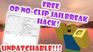 ROBLOX- JAILBREAK (NO-CLIP) Exploit [WORKING]