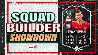 FIFA 21 Squad Builder Showdown Advent Calendar on POTM Lewandowski!!! Day 2