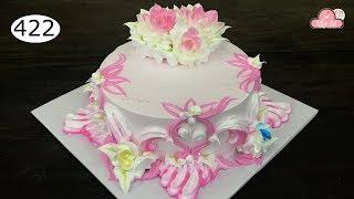 chocolate cake decorating bettercreme vanilla (422) Học Làm Bánh Kem Đơn Giản Đẹp - Bánh Cưới (422)