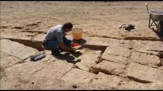 Teatro antico di Agrigento, le prime immagini degli scavi(Sono iniziati questa mattina i lavori per portare alla luce il teatro antico di Akragas. Ecco le prime immagini., 2016-10-10T11:21:17.000Z)