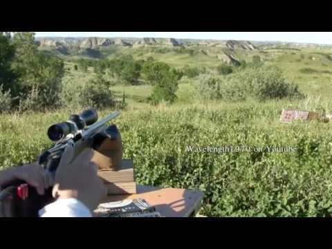 Tikka T3 30.06 lite stainless shooting steel at 485 yards