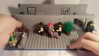 Лего самоделка #16 на тему полиция (тюремные камеры)