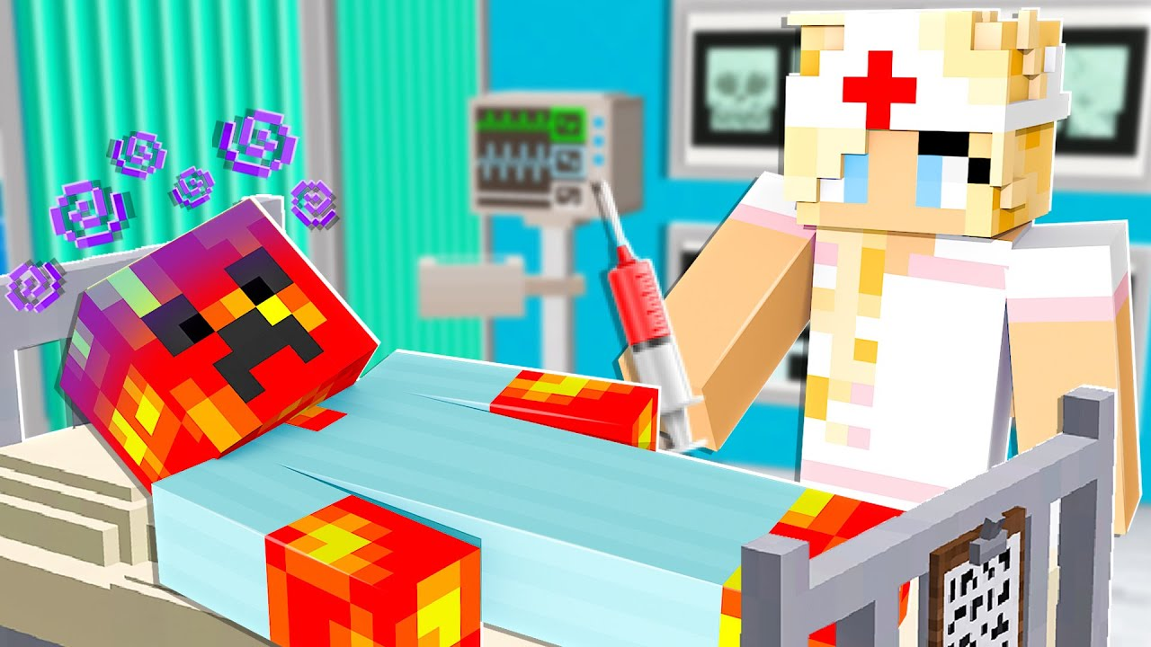 Download Playing as a NURSE in Minecraft!