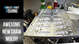 NEW Angling Ai Punch Bug Craw, Shooting New Baits with Terry Scroggins & Josh Clark