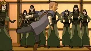 Sokka becomes a Kyoshi Warrior
