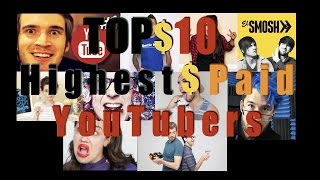 Top 10 - Highest-Paid YouTuber (가장 많이 번 유튜버)