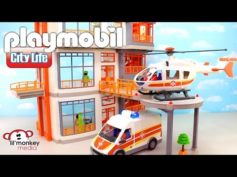 Massive Playmobil City Life Collection!  Children's Hospital and 11 Add-on Sets!