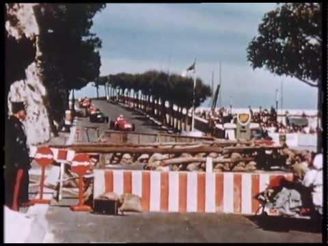 1957 Monaco Grand Prix Highlights