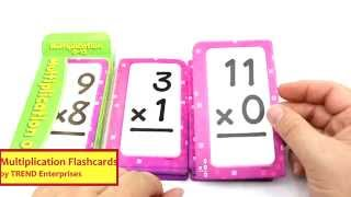 Multiplication Flashcards by TREND Enterprises REVIEW T-53105
