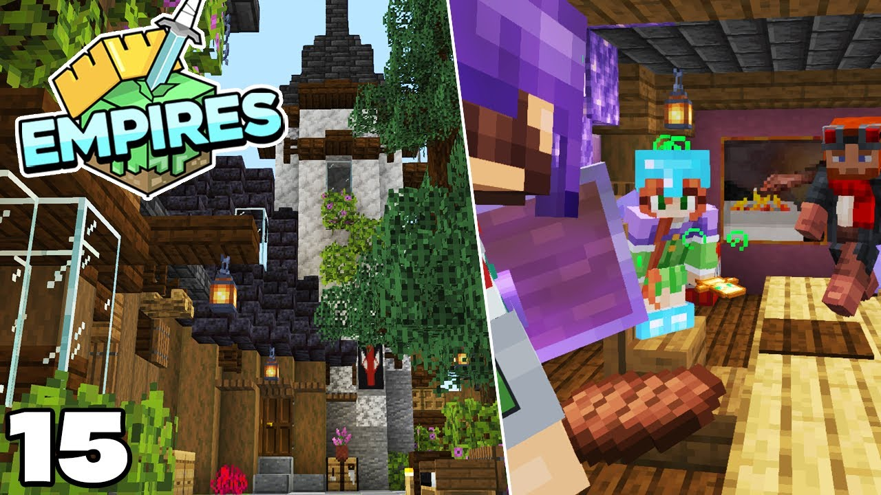 Empires SMP : Alliance meeting and DUNGEON PLANS!! Minecraft 1.17 Survival