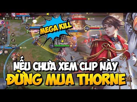 Hướng Dẫn - Vừa Mua Thorne MSuong Ăn Luôn Megakill Sớm Nhất Việt NAM