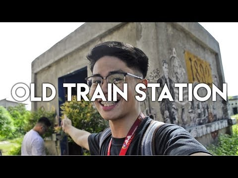 Umihi Dito Si Jose Rizal { San Fernando Train Station