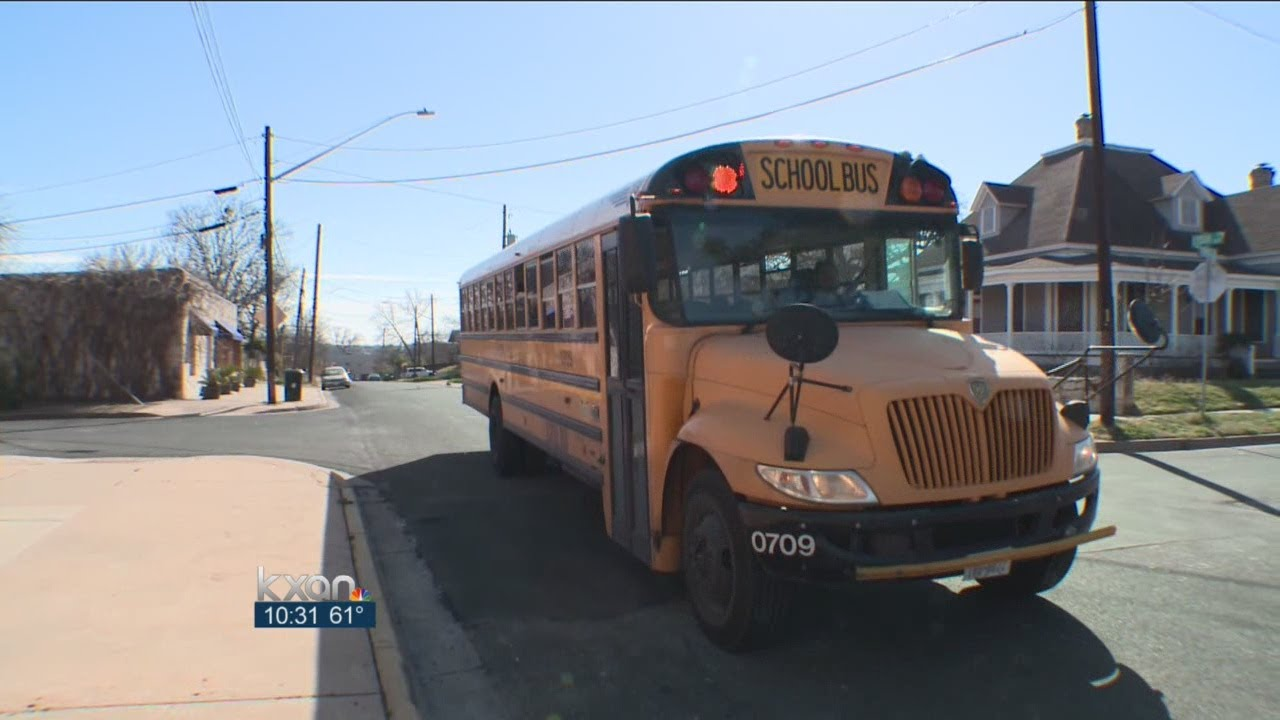 Red light blues: School buses caught on camera