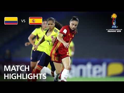 Colombia v Spain- FIFA U-17 Women's World Cup 2018™ - Group D