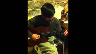 Ước Mi & Silent Night fingerstyle by Tam Nguyen