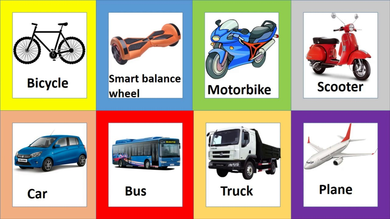 Học tiếng anh chủ đề các loại xe cộ, phương tiện giao thông/ Transport/ English Online