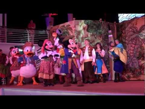 Mickey's Pirates in the Caribbean Party Disney Fantasy