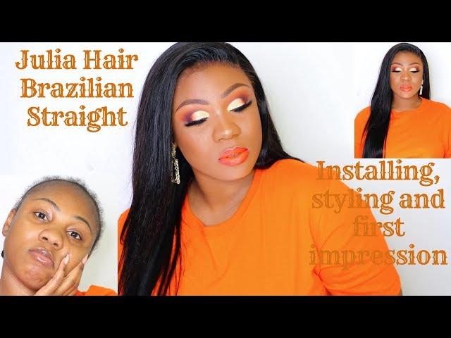 Julia Hair First Impression | Best Brazilian Straight | MakeupbyJayTee