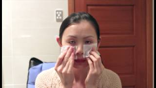 My daily skin care routine (incl: how to use Clarins shaping facial list in fast easy way) Thumbnail