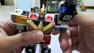 大合體 SUPER MINIPLA 鳥人戰隊 噴射伊卡洛斯 スーパーミニプラ 鳥人戦隊ジェットマン 天空合体 ジェットイカロス<br /> Chodokyu jet icarus premium Bandai