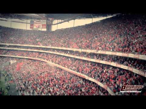 Impressionante!!! Benfica - Olhanense (2-0) 2013/2014 - Golos na Bancada!