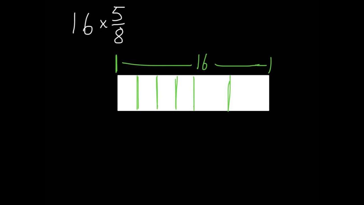 Bar Diagrams For Multiplying Fractions