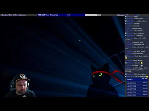 Jan. 9, 2018 - ASP.NET Core integration with Twitch API and SignalR
