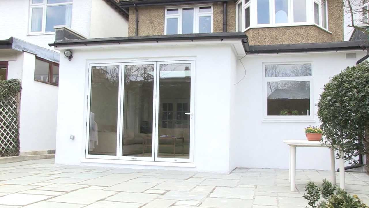 Property Extension - A Hendon 1930 Full Width Rear Extension - YouTube