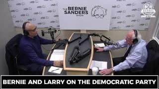 Bernie Sanders with comedian Larry Wilmore 5-18-17