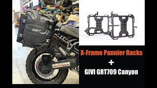 Givi GRT709 Canyon Panniers - Compatible with X-Frame Pannier Racks